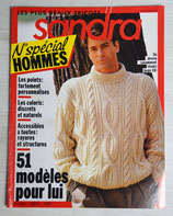 Magazine tricot Sandra numéros spécial homme 3