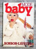 Magazine tricot baby mode n° spécial hors série (Vintage)