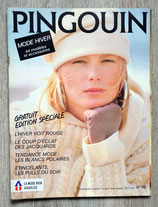 Magazine tricot Pingouin n°76 - Mode hiver (Vintage)