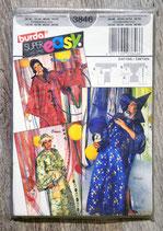 Pochette patron Burda n°3846 - 3 déguisements adulte