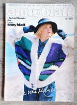 Magazine tricot Anny Blatt n°80 - Spécial mohair