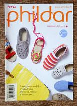 Mini magazine Phildar 594 - 7 modèles d'espadrilles femme et enfants