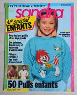 Magazine tricot Sandra Spécial enfants 2