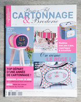 Magazine passion fil - Cartonnage & broderie n°14
