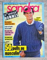 Magazine tricot Sandra n°1 - N° spécial homme