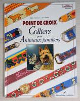 Livre Colliers pour animaux familiers au point de croix