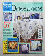 Magazine Burda spécial E515 - Dentelles au crochet