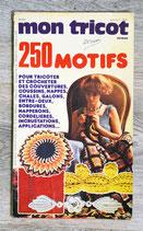 Livre Mon Tricot ouvrage - 250 motifs