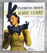Livre Patrons mode Marie Claire - 12 modèles 50's et 60's