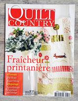 Magazine Quilt country n°37 - Fraîcheur printanière