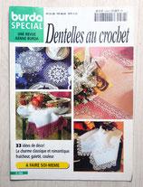 Mini magazine Burda spécial E468 - Dentelle au crochet