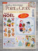 Magazine Motifs et Abécédaires au point de croix n°24 - Noël