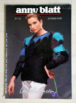 Magazine tricot Anny Blatt 113 - Automne-hiver