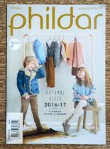 Mini magazine Phildar 654 - 9 modèles enfants