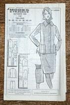 Patron de couture Modes & Travaux 1187 - Tailleur pour femme