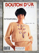 Magazine de tricot Bouton d'Or n°43 - Intemporel .