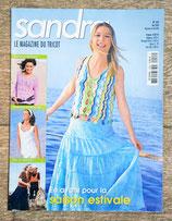Magazine tricot Sandra 255 - Mai 2006