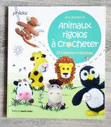 NEUF - Livre Animaux rigolos à crocheter - 20 créations