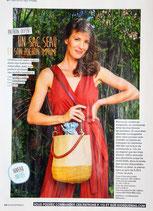 Patron de couture Modes & Travaux - Sac seau