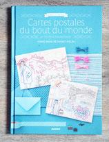 NEUF - Livre Cartes postales du bout du monde en broderie traditionnelle