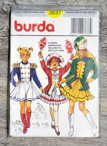 Pochette patron Burda 3837 - Déguisement majorette