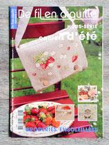 Magazine De fil en aiguille Hors série 17 - Cahiers d'été