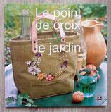 Livre Le point de croix & jardin