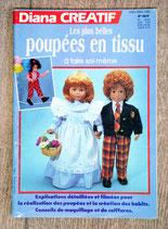 Magazine Diana Créatif - Les plus belles poupées en tissu