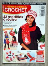 Magazine Créations faciles au crochet - Rouge et blanc