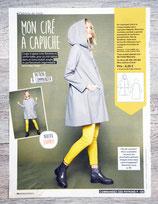 Patron de couture Modes & Travaux - Ciré à capuche