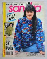 Magazine tricot Sandra 78 - Janvier 1991