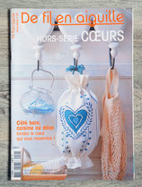 Magazine De fil en aiguille Hors série n°24 - Coeurs