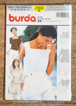 Pochette patron Burda 2964 - Blouse femme