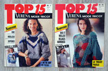 Lot de 2 magazines Verena Top 15 (Vintage)