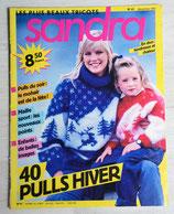 Magazine tricot Sandra 41 - Décembre 1987