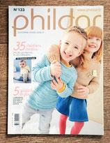 Magazine Phildar 133 - Enfants automne-hiver