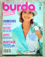 Magazine Burda de septembre 1991