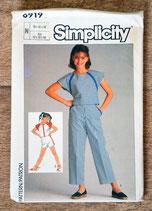 Pochette patron couture Simplicity 6919 - Ensembles fille