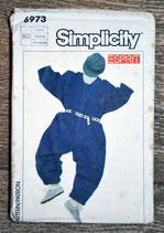 Pochette patron couture Simplicity 6604 - Combinaison fille