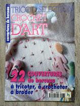 Magazine Tricot Sélection Crochet d'Art - Spécial couvertures