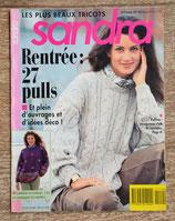 Magazine tricot Sandra 110 - Septembre 1993