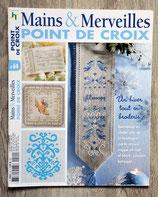 Magazine mains & Merveilles n°64 - Un hiver tout en broderie