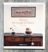 Livre L'Alsace en rouge et blanc