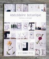 Livre Abécédaire botanique - Lettres à broder