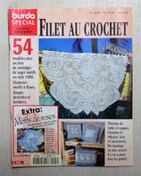 Magazine Burda spécial E508 - Filet au crochet