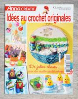 Magazine Anna Créatif n°15 - Idées au crochet originales