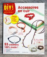 NEUF - Livre et kit DIY - Accessoires en cuir