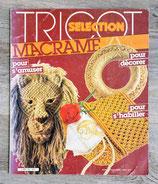 Magazine Tricot Sélection HS sur le macramé