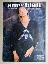 Fiche tricot Anny Blatt Exclusivité couture