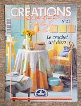 Magazine Créations crochet 21 - Le crochet art déco